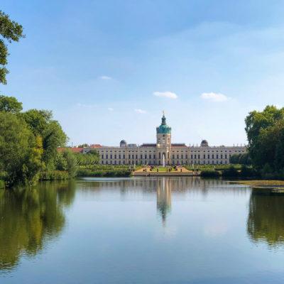 """Sightrunning Tour 4: """"Schlössertour"""" – Bellevue und Schloss Charlottenburg"""