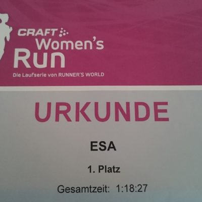 Berlin Sightrunning beim CRAFT Women's Run