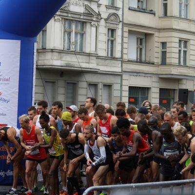 """""""The Great 10k Berlin"""" am 09.10.2016"""