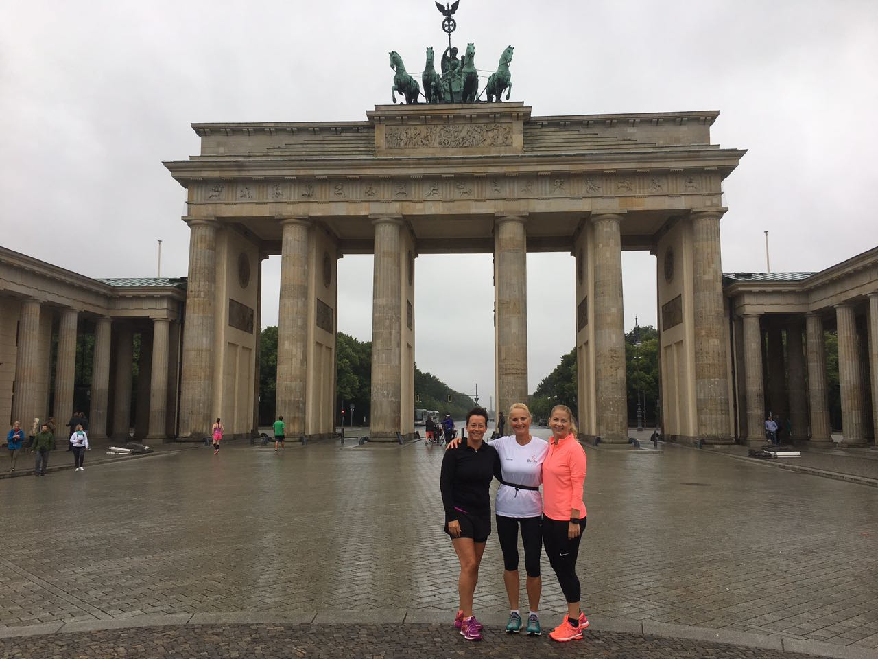 Berlin Sightrunning beim Brandenburger Tor