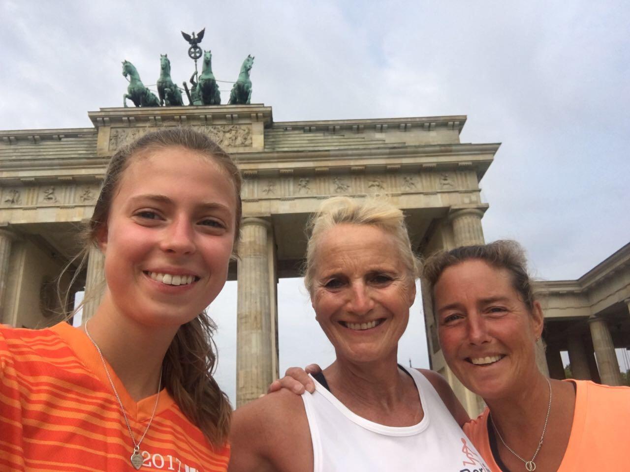 Mit Berlin Sightrunning am Brandenburger Tor