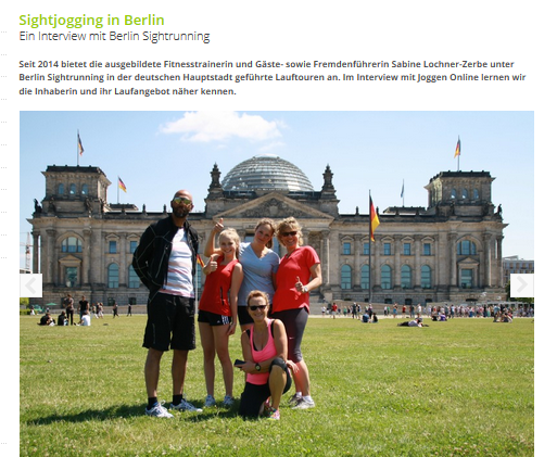 Berlin Sightrunning im Interview