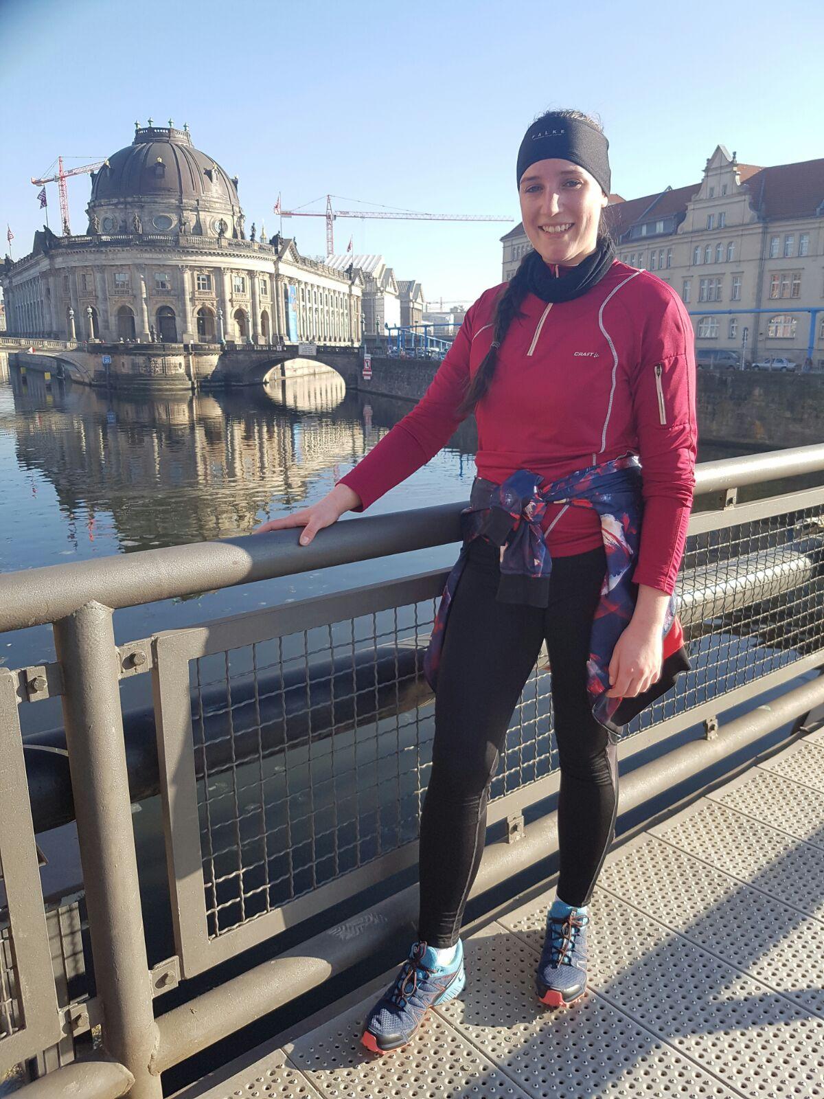 Sightrunning in Berlin mit Sabine Lochner