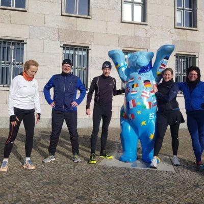 Teambuilding mit Berlin Sightrunning