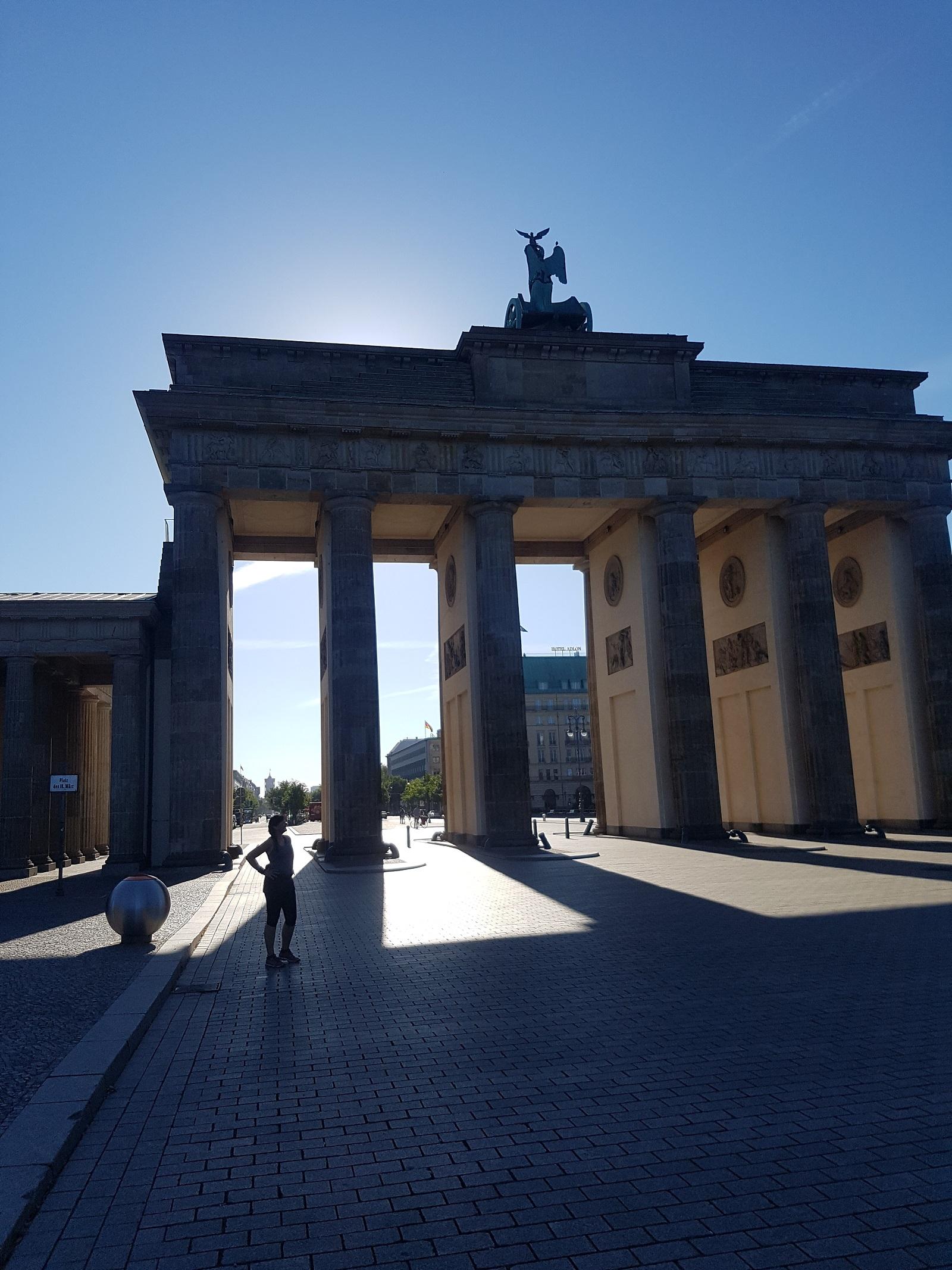 Die Historische Altstadttour, am Brandenburger Tor