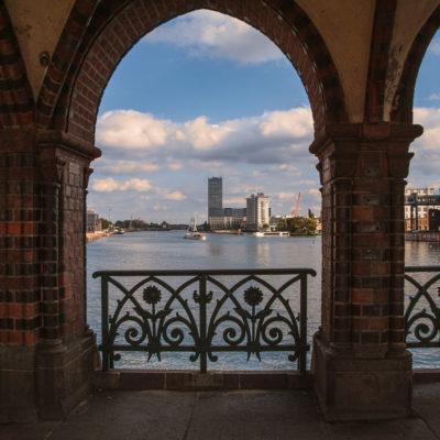 Blick von der Oberbaumbrücke