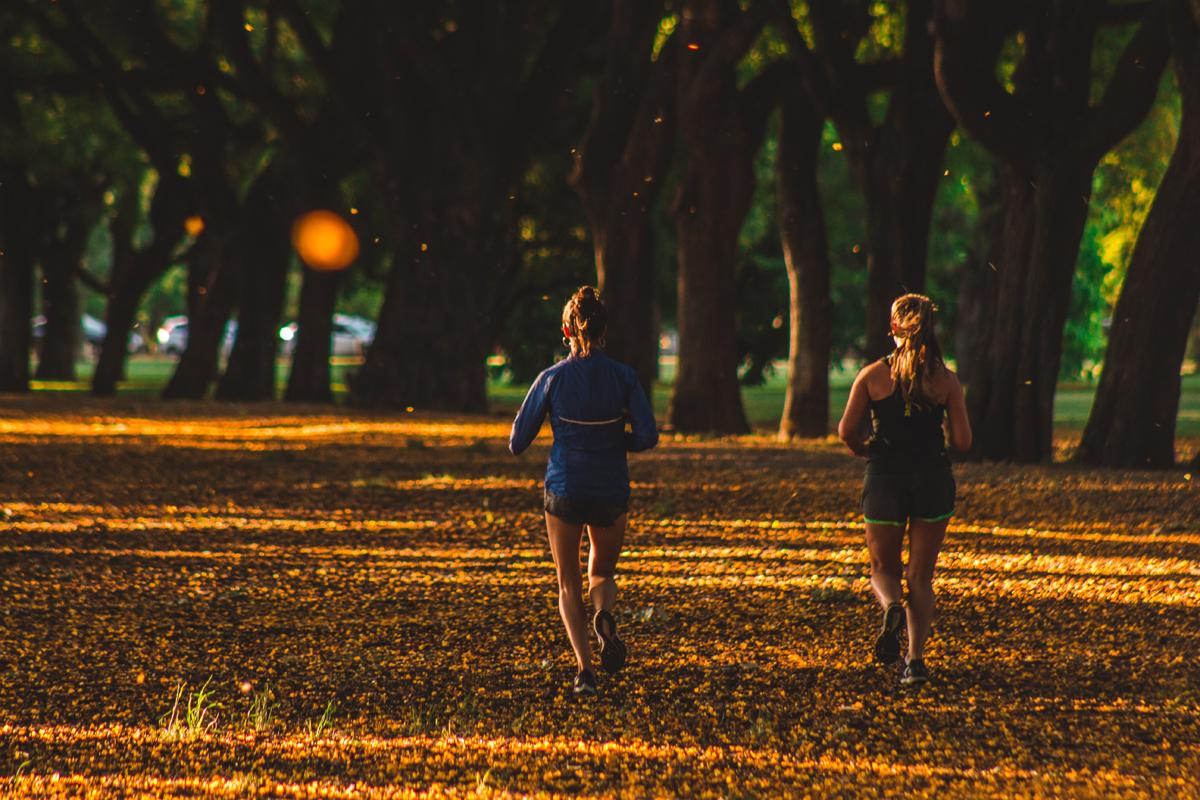 Joggen im Freien